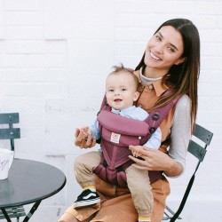Ergobaby Omni 360 Cool Air Mesh, Plum